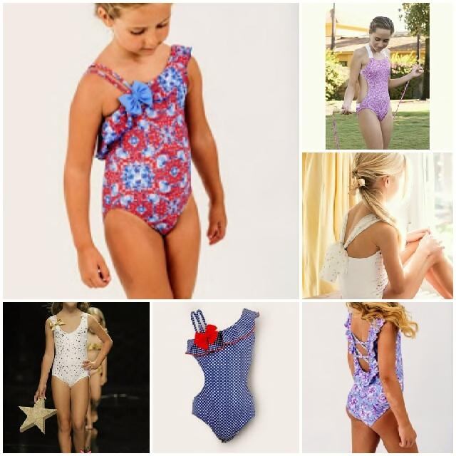 Bañadores bonitos para niñas