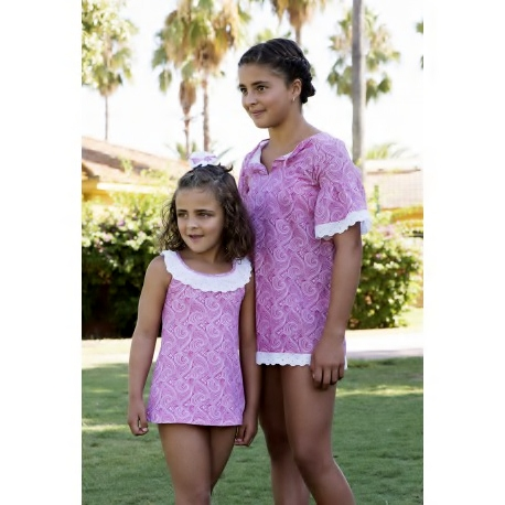 Vestido de licra de Maricruz Moda Infantil
