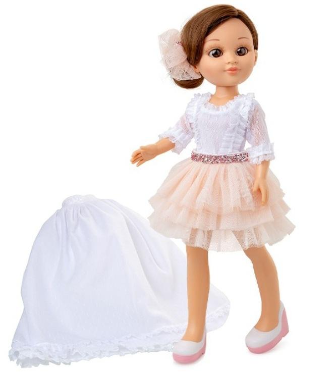 """Muñeca de Comunión para niñas Sofy """"Dos vestidos en uno"""""""